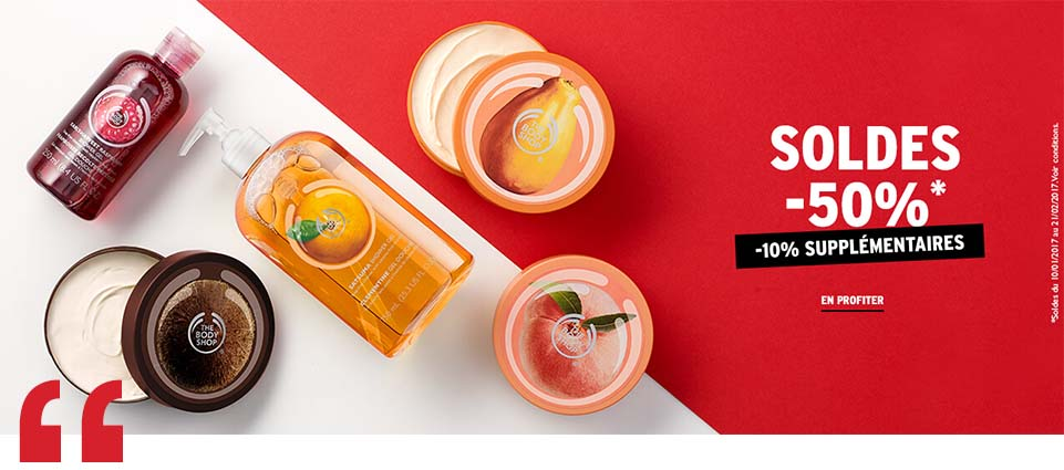 The Body Shop Soldes image