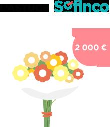 La décoration florale - 2000€