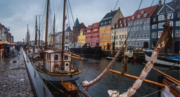 Le Danemark pour la lune de miel